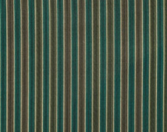 CLEARANCE Denyse Schmidt fabric  Shirt Stripe in Green, 1 yard Chicopee