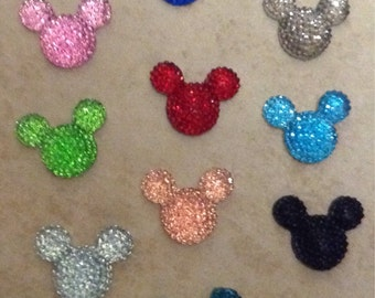 Set of 10 Medium Size Resin Mickey Mouse Heads
