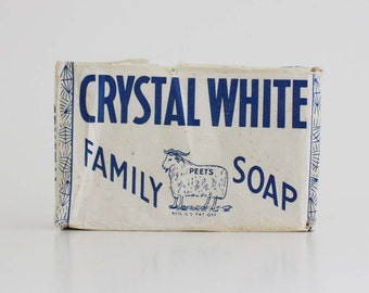 Crystal White Family Soap by Colgate-Palmolive-Peet