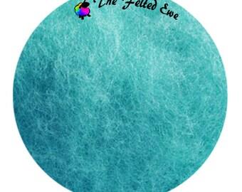 Needle Felting Maori Wool Batt / FB20 Antilles Islands Maori Wool Fluffy Batt