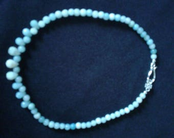 Necklace natural Amazonite - stone that relaxes the back and neck