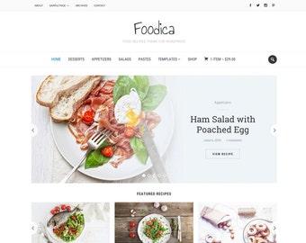 Foodica - WordPress Theme for Food Sites, Recipe Blogs, Magazine