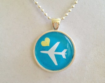 Love To Fly Pendant Necklace