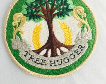 Tree Hugger Patch