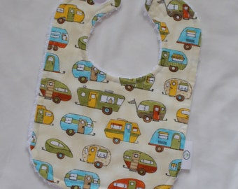 Campers Fabric and Chenille Boutique Bib