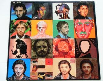 """Die wer - Gesicht Tänze mit 23 """"x 23"""" Poster - """"Sie besser Sie Wette"""" - """"Die ruhigen One"""" - Original Warner Brothers 1981 - Vinyl-LP Album aufzunehmen"""