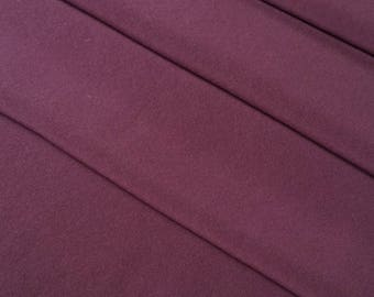 Vintage, deep maroon burgundy chirimen kimono silk- 45 inches (114 cm)