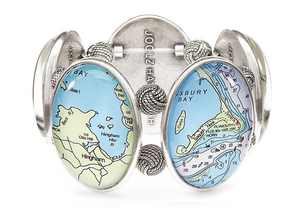 South Shore Massachusetts Five-Cameo Stretch Bracelet