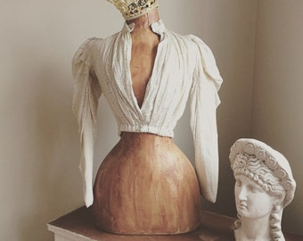 Vintage Inspired Dress Form Mannequin French Paris Free Shipping/Layaway Available