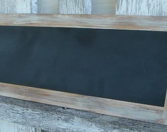 Chalkboard with off white trim
