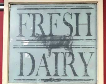 Farmhose wintqge window art