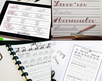 Ultimate Modern Calligraphy Workbook Pack
