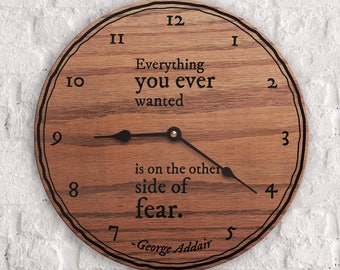 Fearless Quotes - Quotes on Fear - Business Motivation Quotes - Inspirational Quote - Other Side of Fear Quote - George Addair