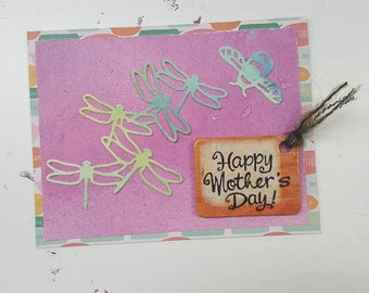 Bumble Flutter Mother's Day Card