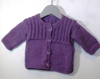 "Top purple ""Baby soft"" is hand"