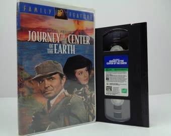 Journey to the center of the earth VHS Tape