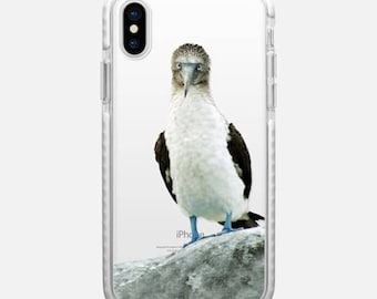 blue footed booby iPhone X case