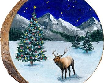 Christmas Elk - DX042