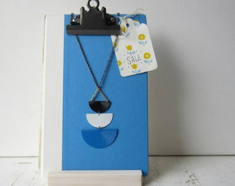 One Clipboard Display with Handmade Wood Holder - For Signs / Photos / Jewelry / Quotes - Ready to Ship