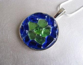Genuine Sea Glass Jewelry - Cobalt Blue - Sea Glass Necklace - Beach Glass Jewelry - Prince Edward Island Gifts of the Sea - Ocean GIfts