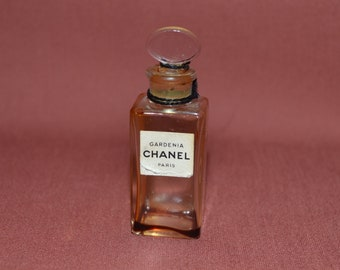 Rare Chanel Paris Vintage Original 1920's Gardenia Perfume Bottle Chanel Perfume Fragrance