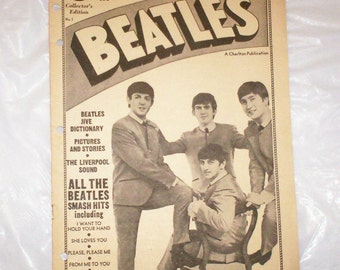 Beatles Songbook-Loose-leaf Binder Insert- No. 1-Collector's Edition