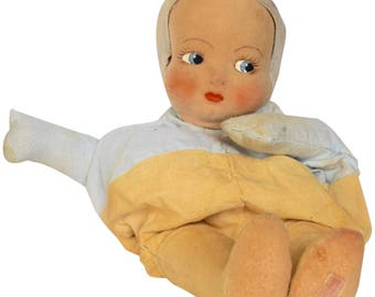 Late 19th Century Marshall Field Pajama Doll