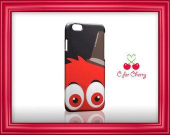Lovely Monster red 3D Wrapped Phonecase iPhone X 8 plus 7 plus 6 plus 5s 5c Samsung note S7 S8 S9 plus HTC LG sony Phone Case Cover Skin