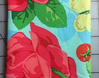 Martha Negley - Seasons Collection - 1 Fat Quarter - Summer PWMN092 in Blue