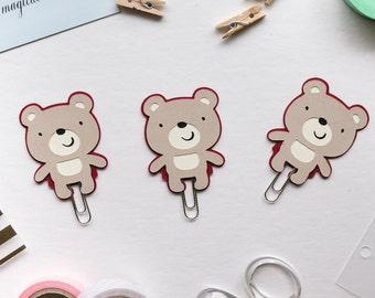 Bear Paper Clip