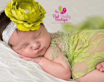 You PICK 1 Baby Headbands - Newborn Headbands- Infant Flower Headband. Baby Hair Accessories. Baby hairbows. Baby Bows, baby girl headbands