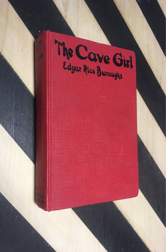The Cave Girl by Edgar Rice Burroughs (Hardcover) 1925 vintage book