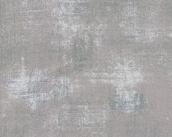 1/2 yd Grunge Basics New Silver by BasicGrey for Moda Fabrics 30150 418