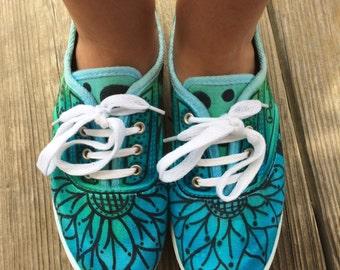 One-of-a-Kind Custom Footwear: (generic, Nike, TOMS, Converse, Vans, etc.)