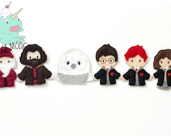 Harry Potter Inspired Finger Puppet Set
