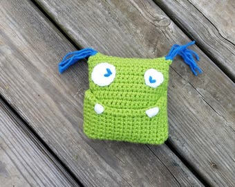 Mini Monster Tooth Fairy Pillow