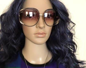 Christian Dior Model 2250 OVERSIZED 1980's Vintage Sunglasses