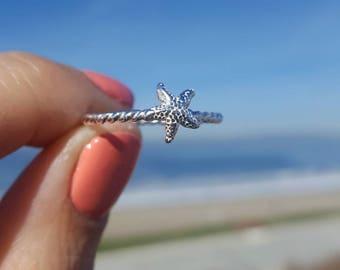 Starfish ring// made-to-order