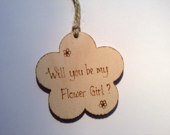 Flower Girl Invitation Proposal Will you be my flower girl