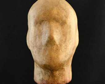 Severed Golem Head - Mask Display Stand - Khaad