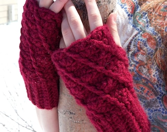 PDF Crochet Pattern - Bree Gloves