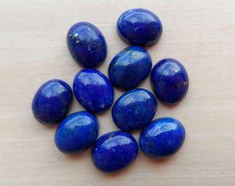 Lapis Lazuli Cabochon oval 10x8mm