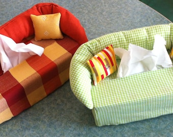 Handkerchief, couch cover, couchbox
