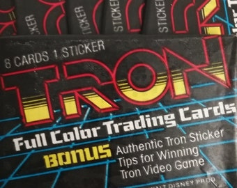 Trading Cards- TRON