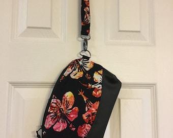 Hawaii Wristlet, Zippered Wristlet, Teen Gift, College Gift, Cruise Wristlet, Zippered purse, Travel Purse, Wristlet, Phone Purse, Travel