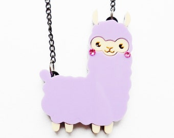 Alfie Alpaca necklace