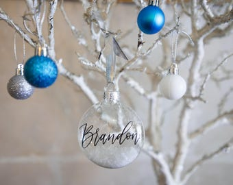 Personalized Custom Christmas Ornaments