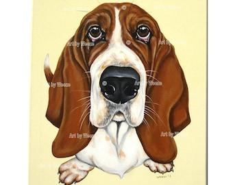 Dog Portrait - Custom Pet Portrait - Custom Dog Portrait - Dog Painting - Pet Portraits - Commissioned Pet Portrait - Dog Art - Weeze Mace