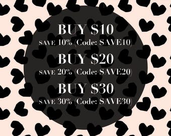 Coupon Codes -Do Not Purchase This Listing-