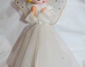 Vintage Christmas Angel Table Top Decoration Ornament